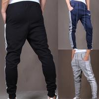Mens Hip Hop Dance Harem Sweatpants Jogging Sports Baggy Legging Pants Trousers Freeshipping