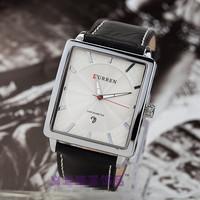 New brand designer quartz watch unique wristwatch electronic business men calendar watch, man fashion square watch
