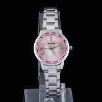 New brand designer quartz watch unique rhinestone wristwatch electronic woman fashion alloy watch gift for girls