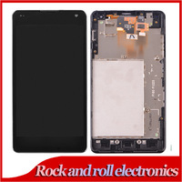 100% Test for LG Optimus G E975 LCD Display with Touch Screen Digitizer Assembly + Frame