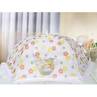 Quality lace folding cover dining table fly cover food boxed Food cover