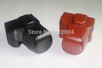 Wholesale! xt1 camera bag imitation leather case for fujifilm X-T1 XT1 ( 18-55mm lens ) camera case PU leather bag Free shipping