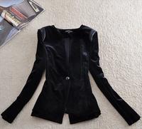 New Female Suit Broadcloth  Woman Suit Blazer Feminino Plus Size Full Sleeve Women Blazers &Jackets Notchet Suits For Women D 13