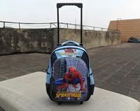 Kids   Fashion  3D      Trolley Bags      Spiderman    Schoolbags