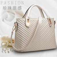 2014 bag for woman bag woman's fashion business handbag bags genuine leather twill bags