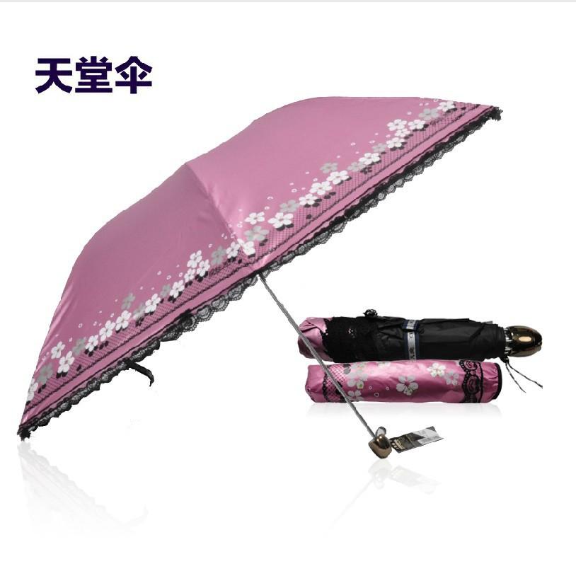 Parasol Paraguas Mujer No Arrival Free Shipping Models Idyllic Paradise 33015e Walk Rain Or Shine Uv Sun Umbrellas Vinyl Pencil(China (Mainland))