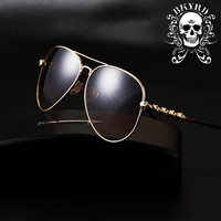 Electronic 2014 new anti-uv sunglasses fashion men's sun glasses trend sun eye glasses Man goggles UV400 brand designer F49