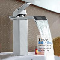 Free Shipping Faucet Bathroom Water Tap Chrome Swivel Brass Mixer Tap Water Tap Bathroom Basin Faucet Torneiras Para Banheiro