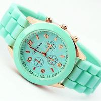2014 New Fashion Men/Women's Sport Silicone Strap Casual Style Quartz Simple design stylish Wrist Watch