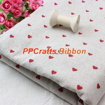 Горячие продаж ткань печатных маленькое в форме сердца ручной работы лоскутное текстильная ...