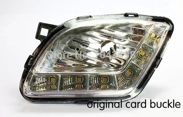 Hyundai VERNA car DRLDaytime running lights/auto led lights/LED drl for Hyundai VERNA(China (Mainland))