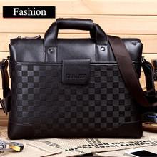 Большей емкости мужчины портфель бизнес мужская сумка многофункциональный мужчины сумка мода мешок компьютера