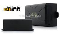 Free shipping Coban Real Time Shock Sensor SOS service GPS Car Tracker TK104 long life 60 Days battery LBS+GPS Double Tracking