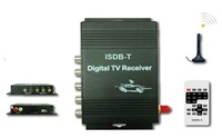Free shipping external digital car ISDB-T TV receiver box for South America digital TV receiver ! Good quality!