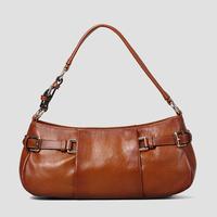 100% Genuine Leather Handbag Fashion Brand Women Shoulder Bags Women Handbag First Layer of Cowhide Bags lady tote Bolsas 8013