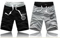 2014 new fashion lovers summer shorts / men's sport short pants / male Cotton polyester  /  women size S men M-XXXL beach pants