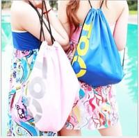 Simple hiking backpack travel backpack waterproof tote student school bag beach swimming bag