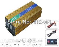 2014 hot selling frequency inverter 3000w pure sine wave dc12v 24v 48v to ac110v 220v 230v 240v with universal  Socket