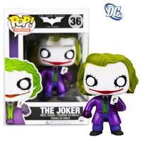 Free shipping 2014 new hot sale funko pop Dark Knight Rises Batman figurine doll clown joker Q model