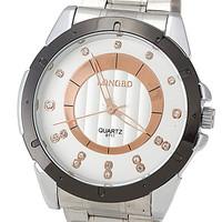 Recommended Hot Summer 2014 Men's Fashion Business Casual Waterproof Sports Watch Luxury Fashion Steel Quartz Watch LONGBO