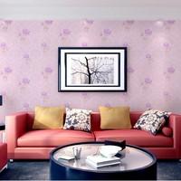 desktop Pvc wallpaper simple fashion flower waterproof wallpaper for bathroom papel de parede roll room decorative  wall panels