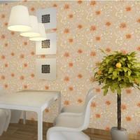 Desktop Waterproof Wallpaper pvc Home Decor wall stickers for kids rooms mirror papel de parede vintage floral child livingroom