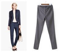 2014 new women's loose emeralds printing elastic drawstring trousers female harem pants casual pants
