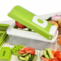 Free shipping Multifunctional kitchen shredder machine Household cooking tools Nicer Vegetable Chopper/Fruit Slicer As on TV