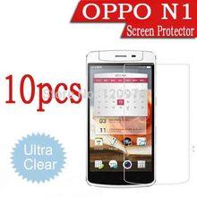 10pcs Octa Core OPPO N1 Screen Protective Film,Ultra-Clear LCD Protective Film For OPPO N1.Find 7 Find 5 X909 X907 U2S R831