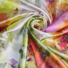 printed silk fabric promotion