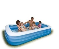 Intex - 58484 of the large inflatable family swimming pool Inflatable swimming pool Children's pool