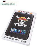 Tablet PC Cases For Ipad Mini Japanese anime One Piece CrossBones iPad Mini Protective Cover
