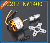 A2212 Brushless Motor 10T 1400KV for RC Aircraft Plane Multi-copter Brushless Outrunner Motor 4pcs+Register Freeshipping