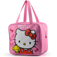 b159 New 2014 fashion sale frozen lunch bag summer spring hello kitty cartoon cooler bags for picnic bolsa termica Free shipping