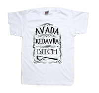 Harry Potter Spell Avada Kedavra Wizard Shirt  Tee More Colors T shirt Mens Womens