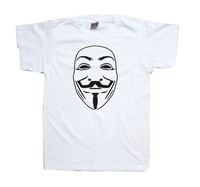 V for Vendetta Shirt V T-shirt Tee More Colors Women's Men's t shirt in six colors
