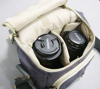 Professional SLR Surface Water Proof Canvas Bag   Digital Camera Bag   Man Bag Shoulder Bag Messenger Bag 7609