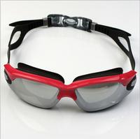 Quality swimming goggles general waterproof anti-fog anti-uv swimming supplies fashion