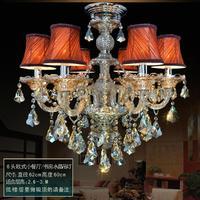 High quality crystal chandelier 6 lights K9 crystal lighting GOOD