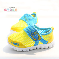 Free Shipping 2014 Hot Sale summer breathable network casual sport children shoes