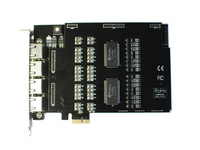 TE820 pci express 8E1 /T1 / J1 asterisk card for voip pbx