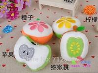 7cm Fruits pendant  plush accessories, kiwi fruit   Apple oranges plush toy