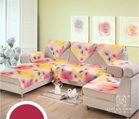 Free shipping 2014 New models Non-slip fabric quilted cushion sofa cushion winter warm soft  sofa cushion