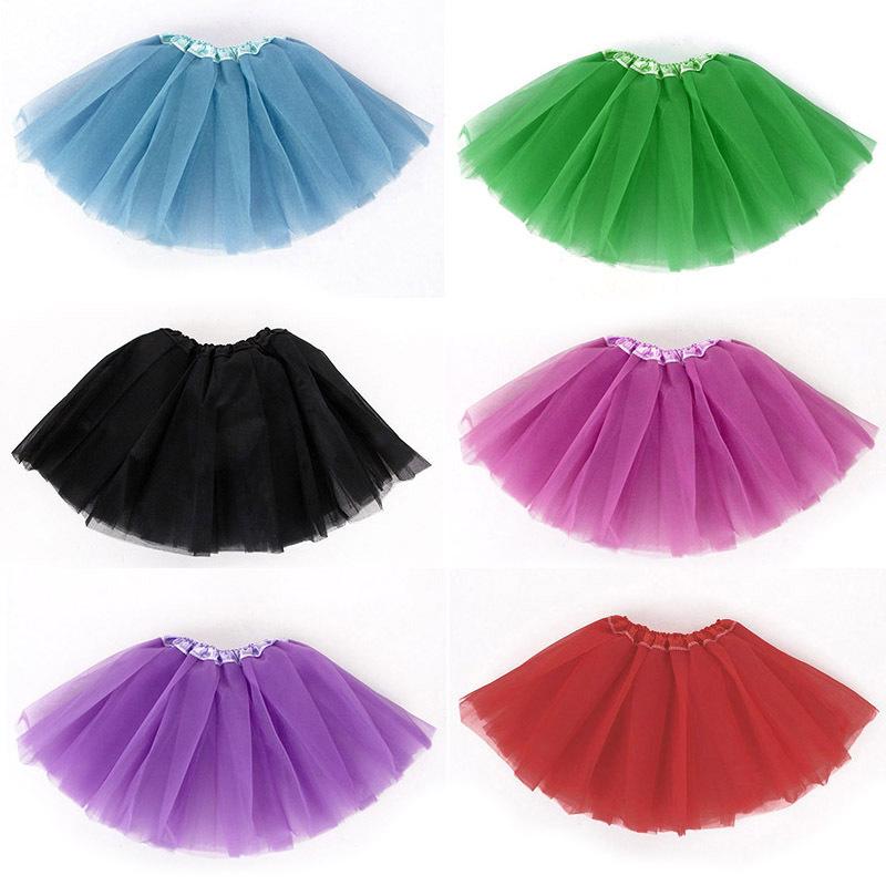 Fashion Baby Girls Kid Children Infant Tutu Dancewear Skirt Ballet Clothes Costume Tulle Pettiskirt Princess 3-5 years #KS0117(China (Mainland))