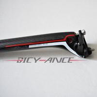 full carbon fibre seatpost bike bicycle parts seat post parts 27.2/30.8/31.6*350mm