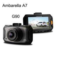 G90 Car DVR 2.7 inch vehicle Camera Ambarella A7 HDR Aperture F1.8 night vision 5.0 Mega 1080P Full HD 170 Degree Recorder