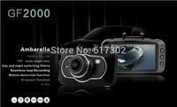 "Car Registrator Video Recorder Full HD 1080P 60FPS Auto Black Box 2.7"" LCD+Touch Buttons+IR Night Vision Ambarella A5 DVR GF2000"