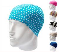 Hot-selling cotton cap swimming cap male Women professional waterproof swimming cap