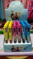 New Frozen ball pen 36pcs,Cartoon Ball point pen,Lovely Frozen 8 colors Ballpoint pen,Hot Stationery,Free shipping
