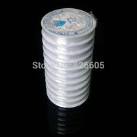 10pcs/lot 0.8mm DIY Crystal Beading Stretch Cord,Elastic Line,Transparent Clear Round Elastic Crystal Thread Free Shipping